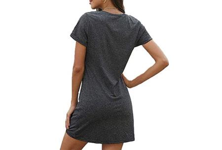 Knotted jurk voor dames | Leuk kort zomerjurkje met knoop