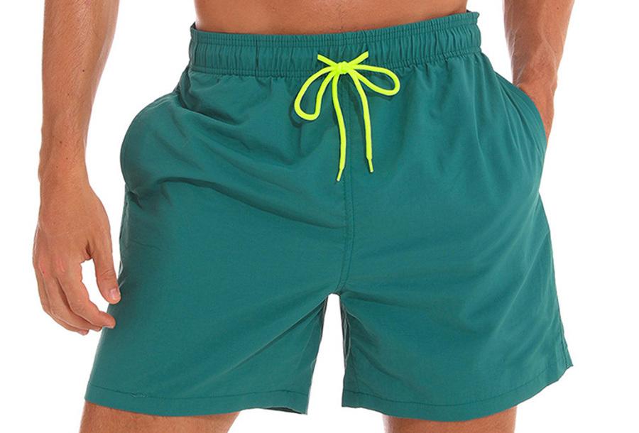 Coloured zwembroek - Groen - Maat M