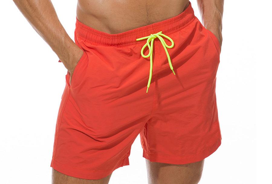 Coloured zwembroek - Oranje - Maat XS