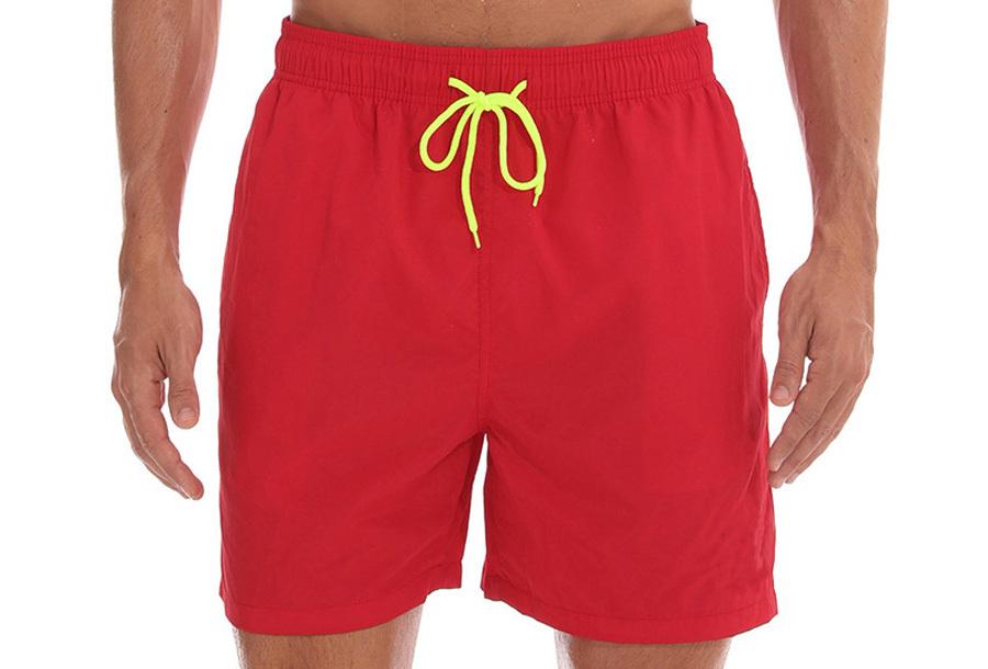 Coloured zwembroek - Rood - Maat L