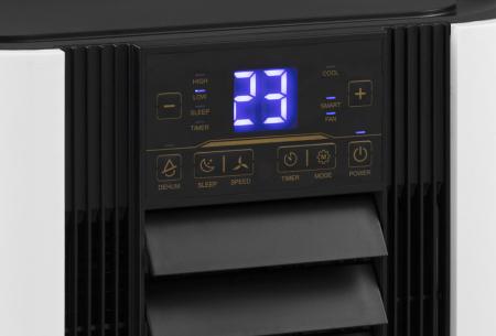 Dreamhouse mobiele airco   9000 BTU airconditioner - koelt, ontvochtigt en ventileert