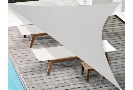Schaduwdoek - formaat van 3 of 5 meter | Creëer een heerlijke schaduwplek in jouw tuin