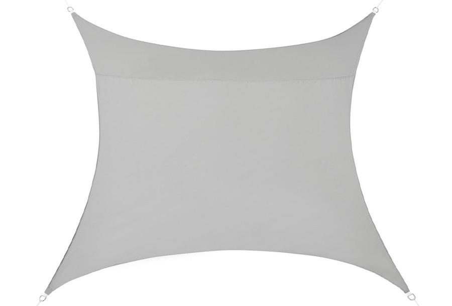 Schaduwdoek 3 meter - Lichtgrijs- Vierkant