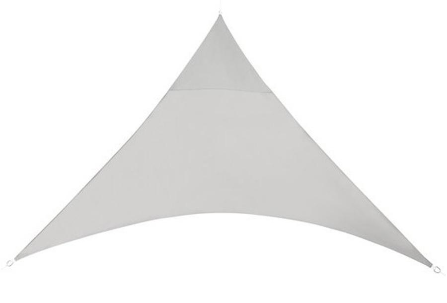 Schaduwdoek 3,6 meter - Lichtgrijs - Driehoek