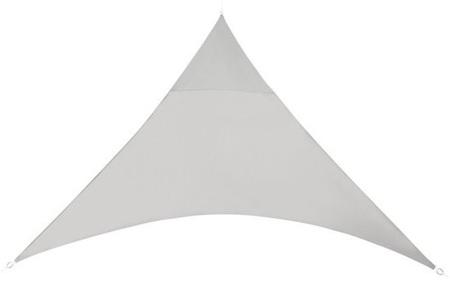 Schaduwdoek - formaat van 3 of 5 meter | Creëer een heerlijke schaduwplek in jouw tuin Lichtgrijs - 3,6 meter