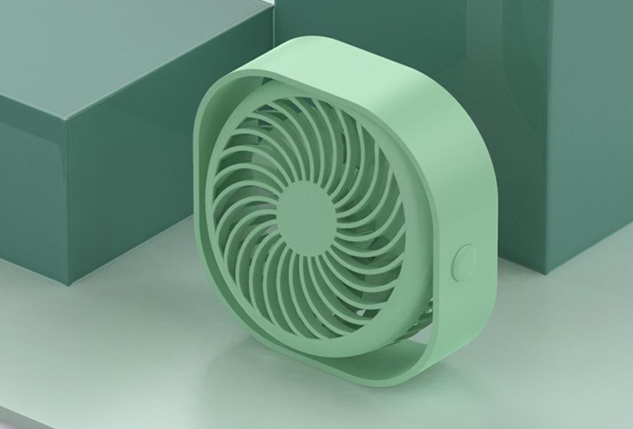 Draadloze ventilator Groen
