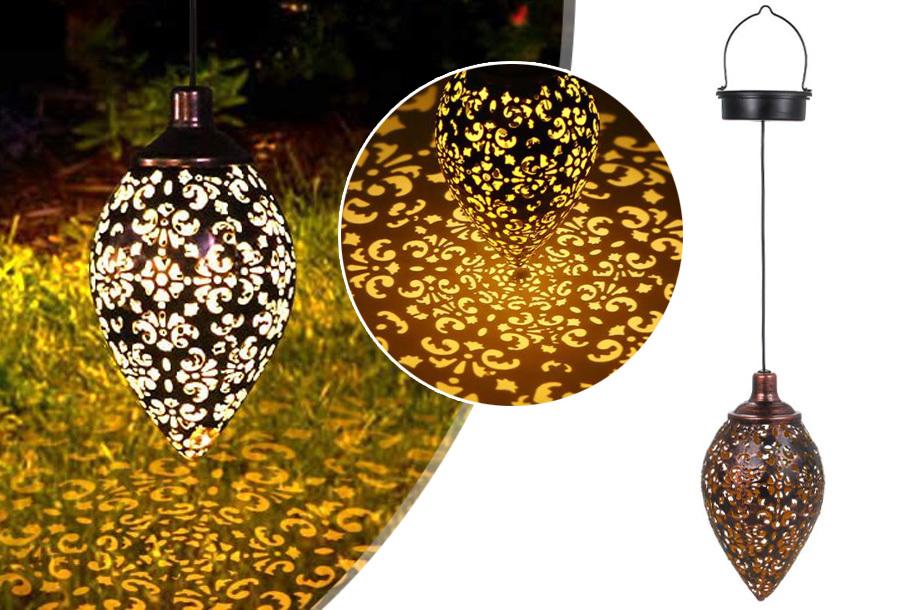 Oosterse solar tuinlamp nu heel voordelig