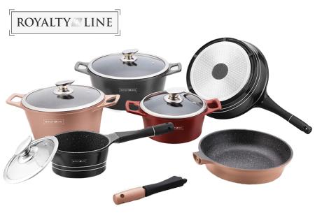 Royalty Line pannen   Losse kookpannen, koekenpannen en steelpannen