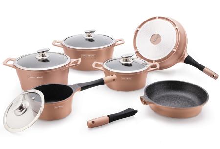 Royalty Line pannen   Losse kookpannen, koekenpannen en steelpannen Koperkleurig