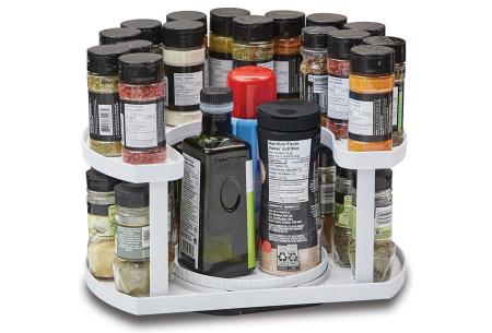 Draaibaar kruidenrek Spice Spinner | Handige kruidenorganizer voor in iedere keuken