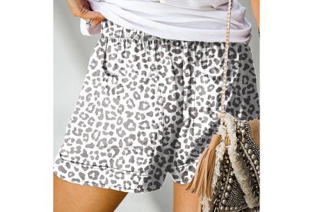 Comfy dames short   High waist korte broek in 10 kleuren