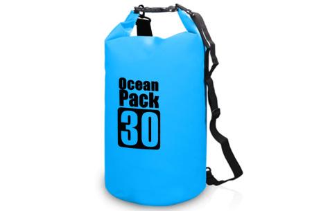 Waterdichte tas   Dry bag in verschillende maten en kleuren  Blauw