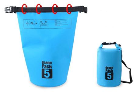 Waterdichte tas   Dry bag in verschillende maten en kleuren