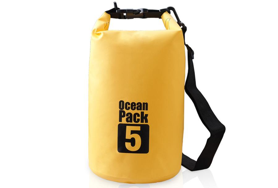 Waterdichte tas 30 liter - Geel