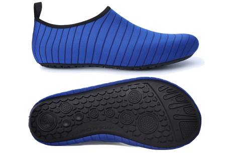 Waterschoenen   Zwemschoenen voor dames & heren Blauw