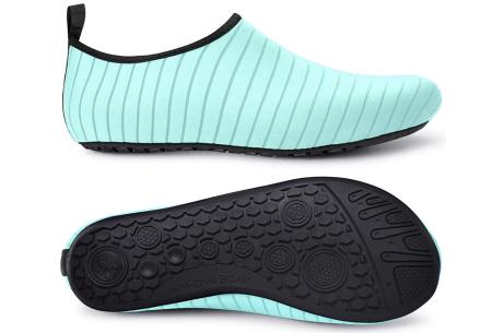 Waterschoenen   Zwemschoenen voor dames & heren Lichtblauw