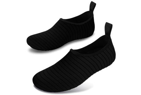Waterschoenen   Zwemschoenen voor dames & heren Zwart
