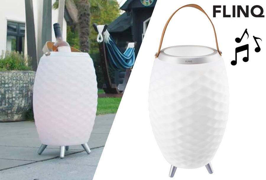Speaker lamp van FlinQ