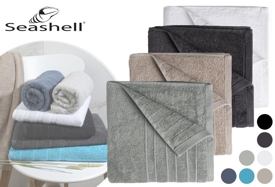 Seashell Luxor Deluxe handdoeken - aanbieding