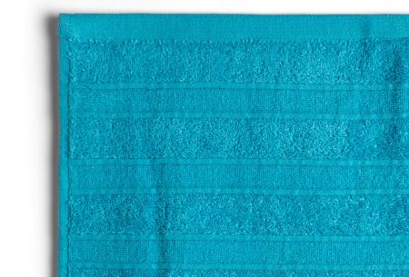 Seashell Luxor Deluxe handdoeken | 100% katoenen handdoeken en badhanddoeken Turuqoise