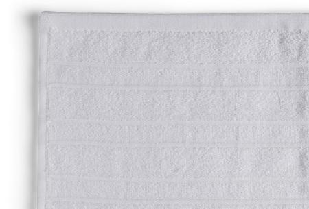 Seashell Luxor Deluxe handdoeken | 100% katoenen handdoeken en badhanddoeken Wit