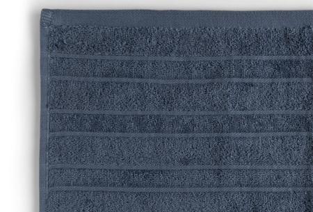 Seashell Luxor Deluxe handdoeken | 100% katoenen handdoeken en badhanddoeken Blauw