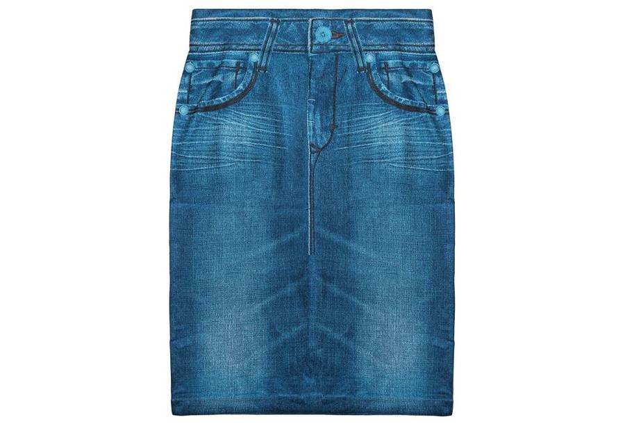 Slim jeans rok - Maat XL/2XL - Blauw