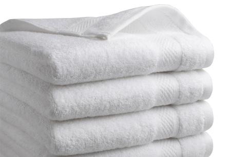 Luxe hotel handdoeken of badhanddoeken van 100% katoen   Diverse pakketten met oplopend set voordeel!