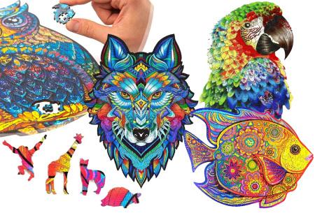 Dieren legpuzzel   Met 3D-stukjes in dierenvorm!