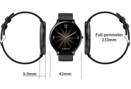 QW13 unisex smartwatch | Luxe horloge voor heren en dames