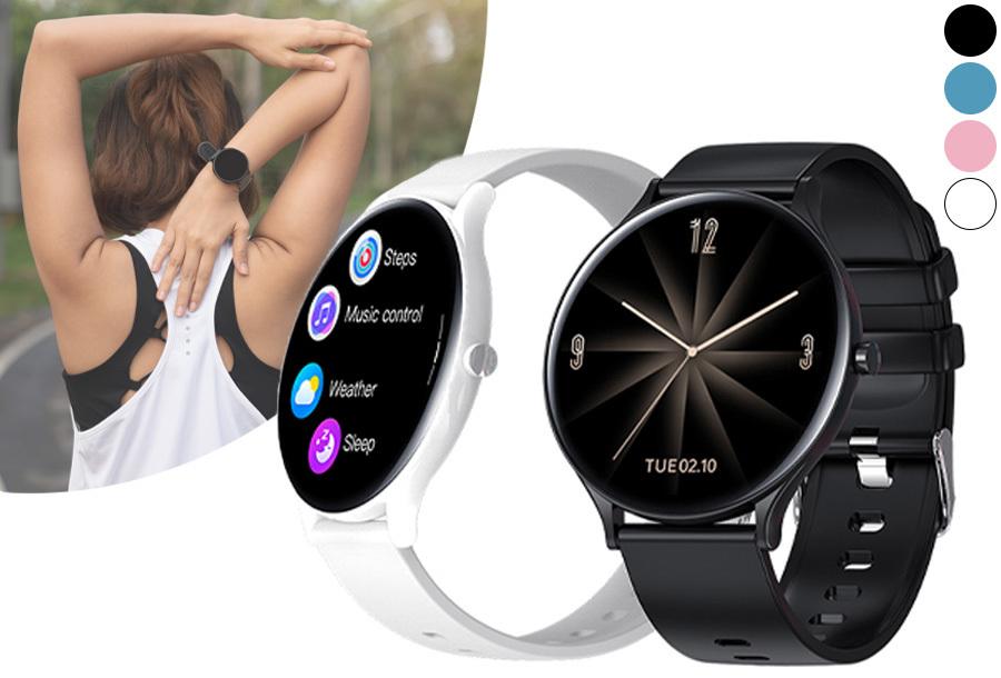 Luxe unisex smartwatch in de sale