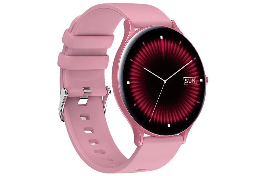 QW13 unisex smartwatch Roze