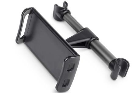 Tablet- en telefoonhouder | Ideale autoaccessoire voor lange autoritten - keuze uit 2 soorten Vast