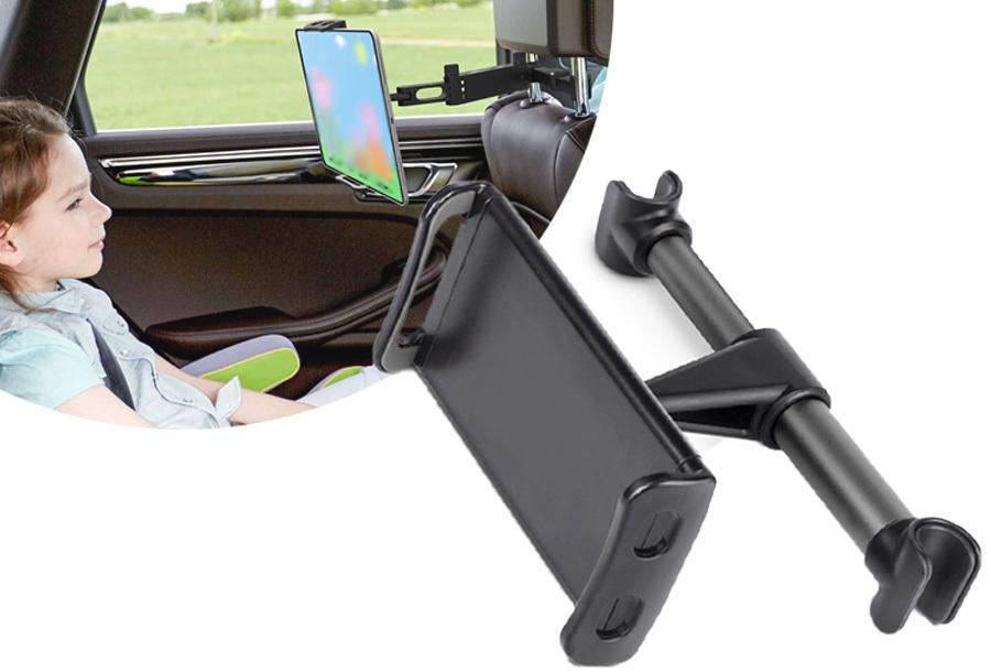 Tablet- en telefoonhouder voor in de auto