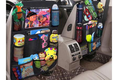 Stoffen autostoel organizer | Auto-organizer voor aan de bestuurders- of passagiersstoel