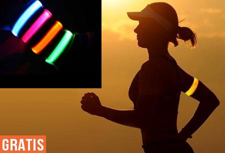 Licht Voor Hardlopen : Gratis led hardloopband veilig hardlopen in het donker