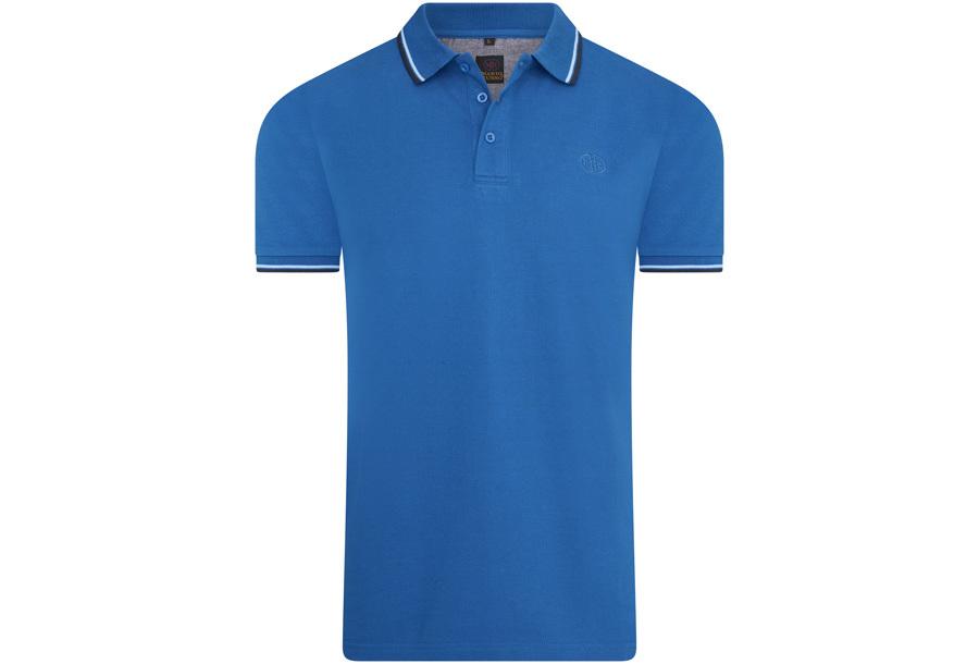 Mario Russo polo shirts Maat 3XL -Blauw