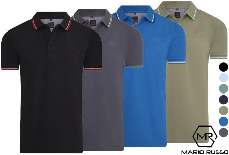 Mario Russo polo shirts   Herenpolo's in 7 kleuren