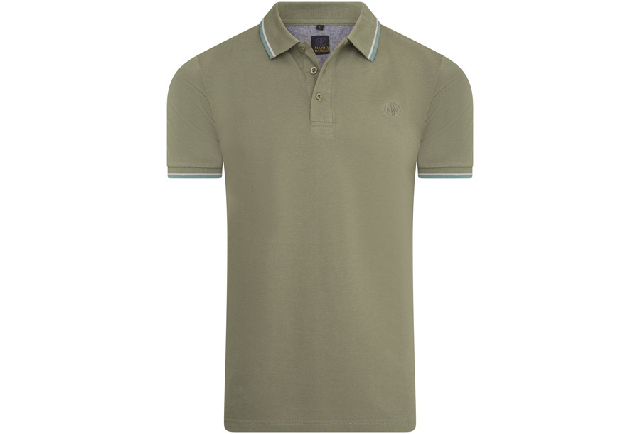 Mario Russo polo shirts Maat 2XL -Legergroen