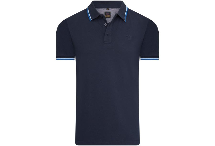 Mario Russo polo shirts Maat XL -Navy