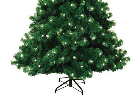 Kerstboom 180 cm hoog met verlichting nu slechts €49,95!