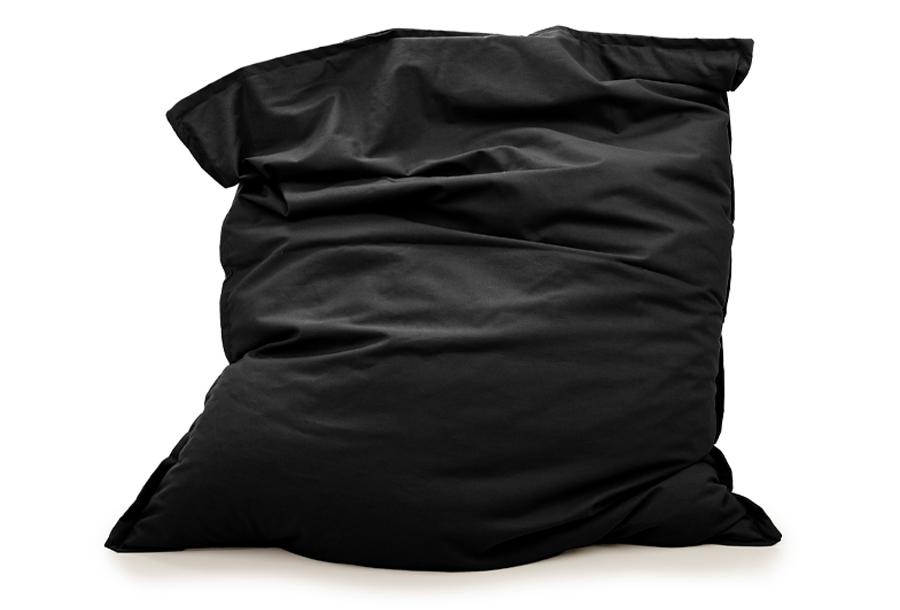 Your Basics zitzakken Afmeting 130 x 150 cm - Zwart