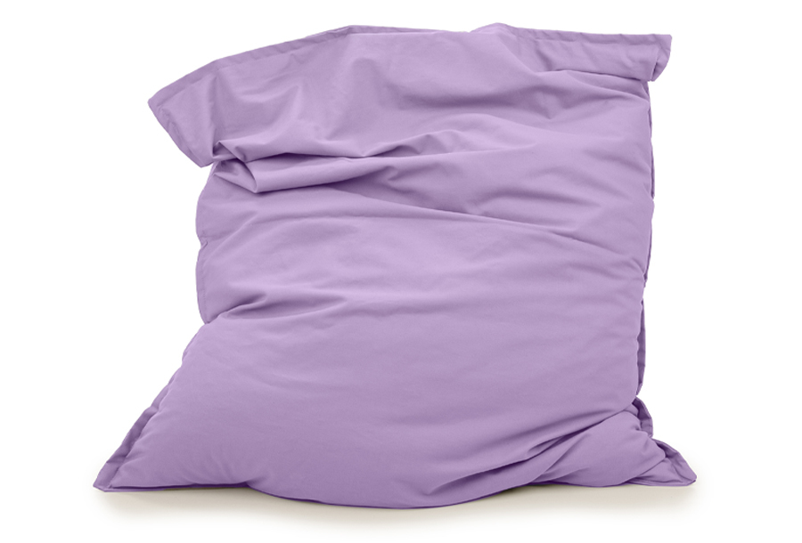 Your Basics zitzakken Afmeting 130 x 150 cm - Lavendel