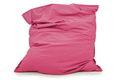 Your Basics zitzakken | Stoffen loungekussens - in 13 kleuren  Roze