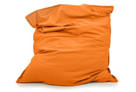 Your Basics zitzakken | Stoffen loungekussens - in 13 kleuren  Oranje
