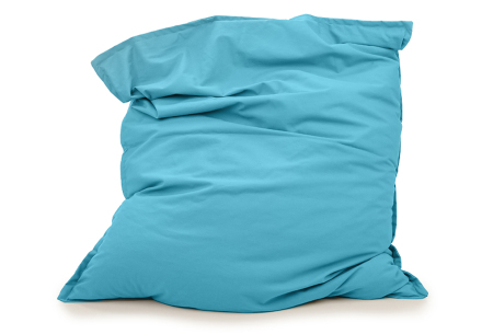 Your Basics zitzakken | Stoffen loungekussens - in 13 kleuren  Turquoise
