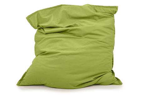Your Basics zitzakken | Stoffen loungekussens - in 13 kleuren  Mosgroen