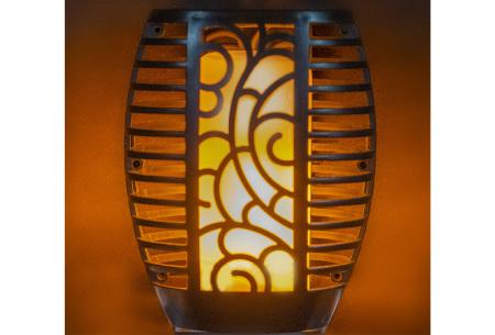 Solar tuinfakkel buitenlamp   Tuinverlichting op zonne-energie