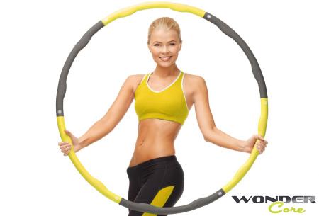 Wonder Core fitness hoelahoep | Train je buikspieren, taille en meer!
