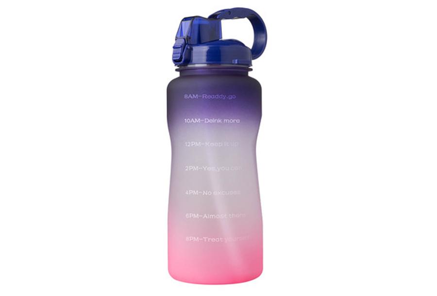 Bidon Kleurverloop - Paars/roze